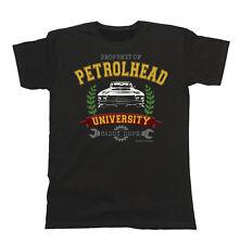 Mens Car T-Shirt Property of Petrolhead University Caddy Dept. Cadillac De Ville
