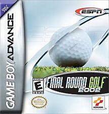 ESPN Final Round Golf 2002 (Nintendo Game Boy Advance, 2001) BOX ONLY