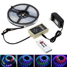 6803 IC Dream Color 5050 RGB Led Strip Light/133 Program RF Controller/Adapter