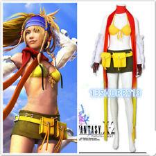 NEW! Cosplay Costume FF8 Final Fantasy X-2 Rikku Uniform Halloween