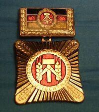 DDR Orden Ostalgie SED FDJ Party 5 Fach Held der Arbeit Kolektiv des Sozialismus