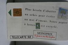 TELECARTE 50 MONOPRIX 1991