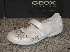 GEOX Ballerina JODIE J3226F00044C1000 weiss 26 27 28 29 30 31 32 33 34 35 36 37