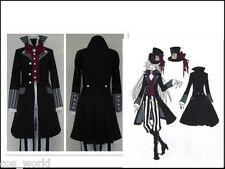Animé Black Butler Kuroshitsuji servicios funerarios Juegos con disfraces Disfraz Uniforme De Traje Completo