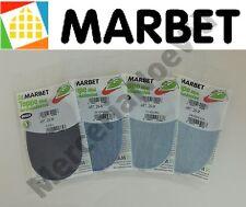 Toppe Termoadesive Scamosciate MARBET Ovali MINI 011 GRIGIO SC 13x8,5cm Bambini