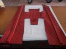 tappeto  vespa  pk 50 125 XL  ROSSO IN GOMMA   *pesolemotors*