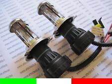 H4 55w COPPIA 2 LAMPADE BI XENO BULBI RICAMBIO 6000k