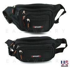 Waist Bag Fanny Pack Mens Women Hip Belt Bum Pouch Waterproof Sport Travel Purse