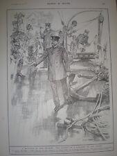 Spedizione Ban RIGH sequestrate Victoria Dock London Arms per rivolta VENEZUELA 1901 Print