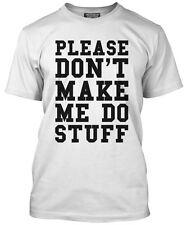 Non obbligarmi a fare cose divertenti PENSIONE Lazy adolescente regalo LOOSE FIT T-shirt