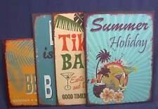 Blechschild Tiki Bar ca. 30 x 40 cm, WELCOME to our BEACH BAR