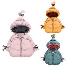 Toddler Baby Girls Long Sleeve Korean Fleece Thicken Warm Winter Down Coat #Cu3