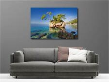 Cuadro pinturas decoración en kit Pequeña isla ref 88605277
