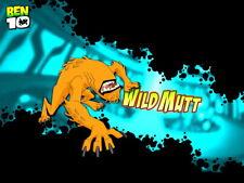 Ben 10 Wild Mutt Alien Cartoon TV Series Art Giant Wall Print POSTER
