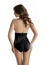 Shapewear Panty Mieder Hose schwarz Bauch-Weg High-Waist figurformend