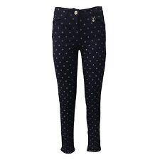 PENNYBLACK pantalone donna blu fantasia 96% cotone mod LADINO vestibilita skinny