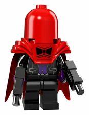 Lego red hood choose parts legs torso head helmet hood cape armour gun