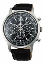 NWT ORIENT Classic Quartz Chronograph Big Date Watch TV02003B TV02003D TV02004W