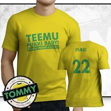 Teemu Pukki Baby T-Shirt, Norwich City Fan T-Shirt Pukki Baby