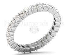 1.50 carat Round Brilliant Cut Diamonds Full Eternity Ring 950Platinum