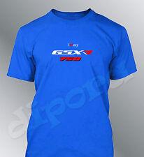 T-shirt personalizzato 750 GSXR S M L XL XXL uomo girocollo moto GSX-R