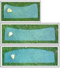 2. Wahl: Glasscheibe drei Größen, gerundet 8 mm stark EinlegebodenOHNE Halterung