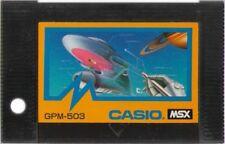 """MSX ROM""""KAKIKUKE KON""""GRAPHIC SOFT CASIO JAPAN"""