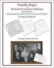 Family Maps Howard County Indiana Genealogy IN Plat