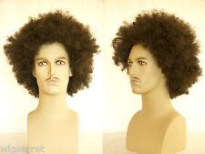 Large afro style Blonde Brunette Curly Men's Wig