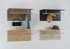Wall Mounted Coat Stand Hat Rack Shelf Rail&Hooks Spot