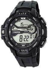 Calypso Herrenuhr Quarz Digital Kunststoff mit PU-Band Alarm-Chrono alle K5695