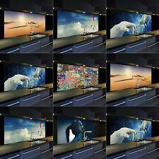Glasbild mit hochwertigem Digitaldruck verschiedene Motive und Größen
