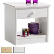 Nachttisch Nachtkommode Nachtkästchen Nachtkonsole Kiefer Holz lackiert 2 Farben