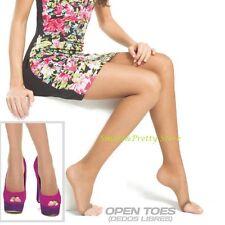 Medias Panty Para Sandalias Diane and Geordi Ref. 2740 Estilo Fashion Mujer