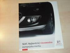 25667) Seat Altea Freetrack Leon Polen Prospekt 200?