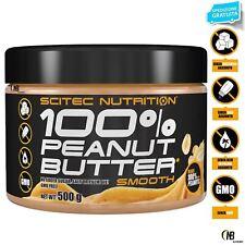 SCITEC NUTRITION 100% Peanut Butter Puro Burro d' Arachidi senza Zucchero e OGM!