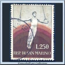 1955 San Marino Sport 2ª emissione L. 250 n. 419 Usato