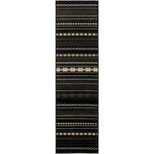 Surya PAR-1047 Paramount Runner, Black/Light Gray