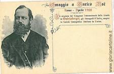 CARTOLINA d'Epoca: ROMA Citta': PUBBLICITARIA 1900