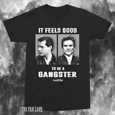 New GoodFellas It feels Good Gangster 1990 Vintage Mens T-Shirt