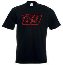 Nicky Hayden 69 MENS MOTO GP Legend Camiseta Top
