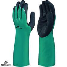 DELTA Plus Venitex vv835 chemsafe verde nitrile resistente ai prodotti chimici Guanti Grip