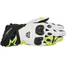 Alpinestars GP Pro R2 Sporthandschuh schwarz / weiß / fluo-gelb