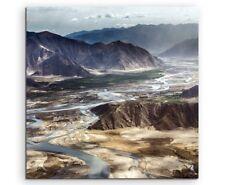 Landschaftsfotografie – Tibetische Berglandschaft auf Leinwand