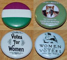 Suffragette Button Badge 25mm / 1 inch Women's Rights Vote Feminist Feminism
