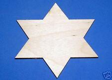 Star Of David LaserWoody Unfinished Wood Shapes 2Sd793C