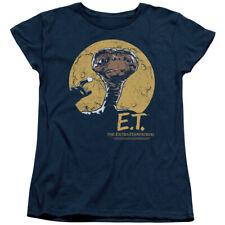 E.T. The Extra-Terrestrial Sci-Fi Film Moon Frame Women's T-Shirt Tee