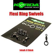 Rig Ring Oval 20 Stück Korda Karpfen angeln Zubehör