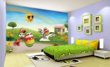 3D vivaio uovo Parete Murale Foto Carta da parati immagine sfondo muro stampa