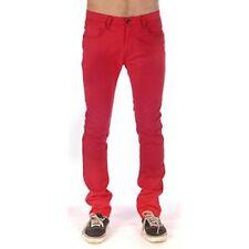 Volcom Men's Vorta Red Jeans Casual